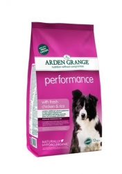 Arden Grange Performance rich in chicken & rice 12 kg