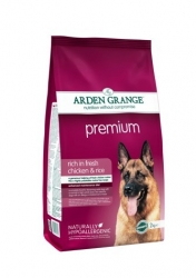 Arden Grange Premium rich in fresh chicken 2 x 12 kg