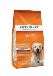 Arden Grange Senior with fresh chicken & rice 2 x 12 kg