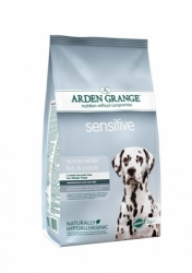 Arden Grange Sensitive Ocean White Fish & Potato 2 x 12 kg