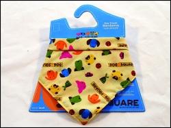 Šátek DOG SQUARE bandana S
