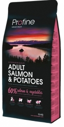NEW Profine Adult Salmon & Potatoes 15kg + konzerva ZDARMA