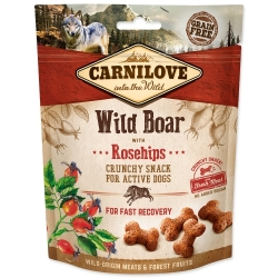 CARNILOVE Dog Crunchy Snack Wild Boar with Rosehips with fresh meat