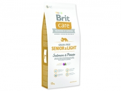 BRIT Care Grain-free Senior & Light Salmon & Potato 12kg