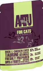 AATU Cat Duck n Chicken Liver kapsička 85g
