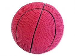 Hračka DOG FANTASY Latex basketball míč se zvukem 7,5 cm