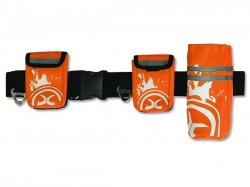 Pás pro jogging M oranžový