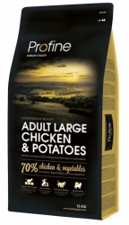 NEW Profine Adult Large Breed Chicken & Potatoes 15kg + konzerva ZDARMA