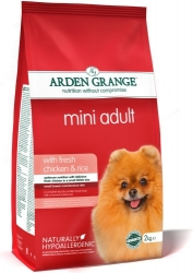Arden Grange Mini Adult rich in fresh Chicken & Rice 2kg