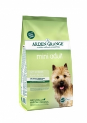 Arden Grange Mini Adult rich in fresh Lamb & Rice 2kg