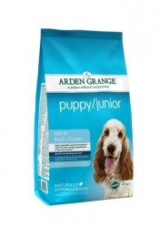 Arden Grange Puppy/Junior rich in fresh chicken 2 x 12 kg