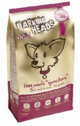 BARKING HEADS TINY PAWS QUACKERS GRAIN FREE 12 kg + slevový kupo