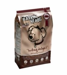 BARKING HEADS Turkey Delight Grain Free 12 kg + slevový kupon na