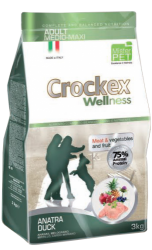 CROCKEX Adult Medium - Maxi Duck Rice Low Grain 3kg