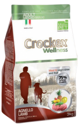 CROCKEX Adult Medium - Maxi Lamb Rice Low Grain 3kg