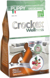 CROCKEX Puppy Medium - Maxi Chicken Rice Low Grain 24kg