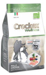 CROCKEX Adult Medium - Maxi Chicken Rice Low Grain 24kg