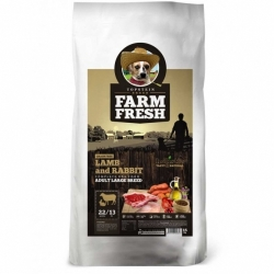 Topstein Farm Fresh Lamb & Rabbit Adult Large Breed 15 kg