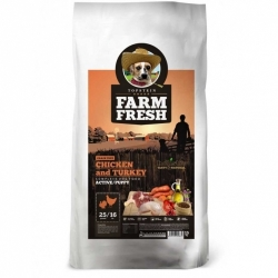 Topstein Farm Fresh Poultry Active / Puppy 15 kg