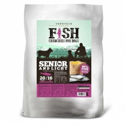 Topstein Fish Crunchies Senior / Light 15 kg