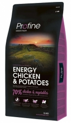 NEW Profine Energy Chicken & Potatoes 15kg + konzerva ZDARMA