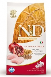 N&D Low Grain DOG Adult Chicken & Pomegranate 2,5kg