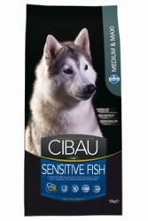 CIBAU Dog Adult Sensitive Fish&Rice 12kg