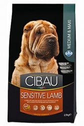CIBAU Dog Adult Sensitive Lamb&Rice 12kg