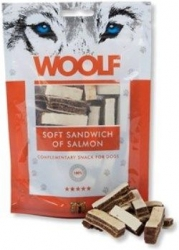 WOOLF pochoutka soft sandwich of salmon 100g