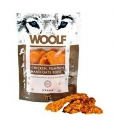 WOOLF pochoutka large chicken, pumpkin, oats bone 100g