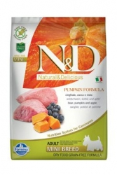 N&D GF Pumpkin DOG Adult Mini Boar & Apple 7kg