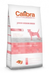 Calibra Dog HA Junior Medium Breed Chicken  3kg NEW