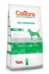 Calibra Dog HA Adult Medium Breed Lamb  14kg NEW
