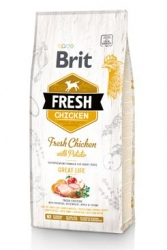 Brit Dog Fresh Chicken & Potato Adult Great Life 2,5kg