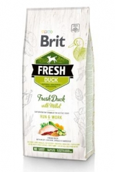 Brit Dog Fresh Duck & Millet Active Run & Work 12kg
