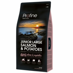 NEW Profine Junior Large Breed Salmon & Potatoes 15kg + konzerva ZDARMA