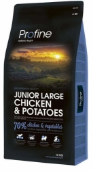 NEW Profine Junior Large Breed Chicken & Potatoes 15kg + konzerva ZDARMA