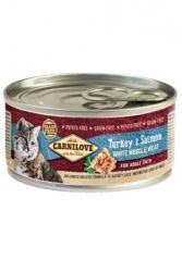 Carnilove White Muscle Meat Turkey&Salmon Cats 100g