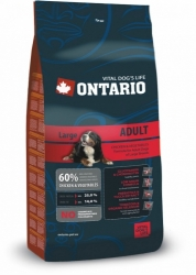 Ontario Adult Large Breed 2,5 kg