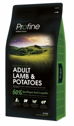 NEW Profine Adult Lamb & Potatoes 15kg + konzerva ZDARMA