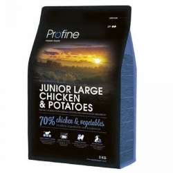 NEW Profine Junior Large Breed Chicken & Potatoes 3kg