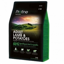 NEW Profine Adult Lamb & Potatoes 3kg