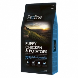 NEW Profine Puppy Chicken & Potatoes 15kg + konzerva ZDARMA