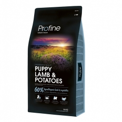 NEW Profine Puppy Lamb & Potatoes 15kg + konzerva ZDARMA