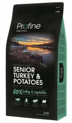 NEW Profine Senior Turkey & Potatoes 15kg + konzerva ZDARMA