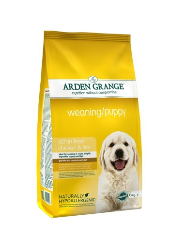 Arden Grange Weaning/Puppy rich in fresh chicken 2 x 6 kg