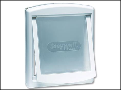 Dvířka STAYWELL bílá s transparentním flapem 740