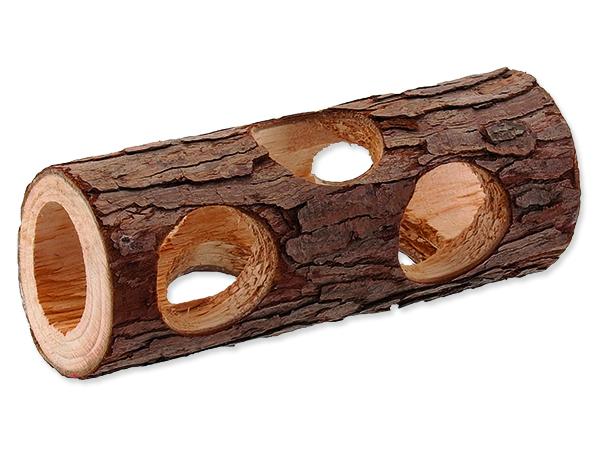 Úkryt SMALL ANIMALS kmen stromu dřevěný 5 x 15 cm