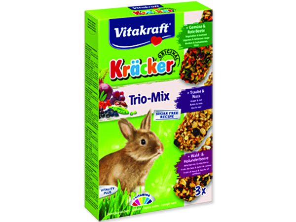 Kracker VITAKRAFT Rabbit Vegetables + Nuss + Fruit