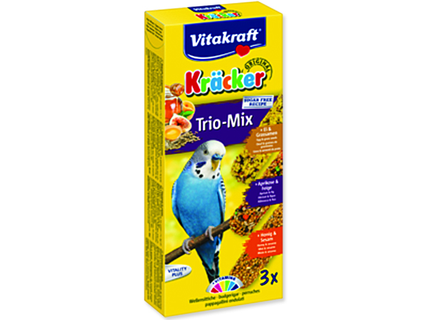 Kracker VITAKRAFT Sittich Honey + Egg + Fruit